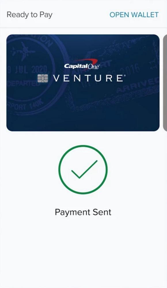 Payment Sent