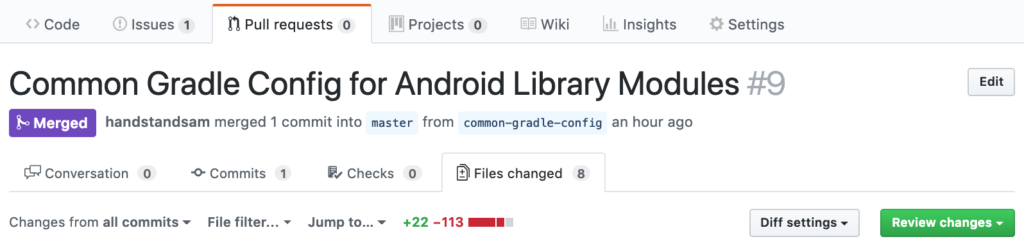 Sharing Gradle Configuration in Multi-Module Android